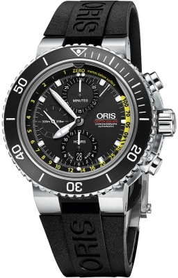 Oris Aquis Depth Gauge Chronograph 48mm 01 774 7708 4154-Set RS